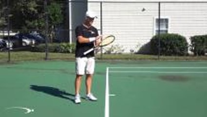 """Tennis Topspin """"Over the Top"""" Busted - OR NOT?"""