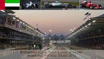 Entretien avec Jean-Louis Moncet avant le GP d'Abu Dhabi 2015