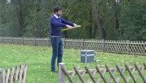 Démonstration de drone par AIRINOV