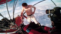 Antti Pendikainen    Hot Air Balloon Ride without parachute!