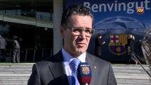 Josep Vives recomienda asistir con antelación al Camp Nou