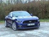 Essai Ford Mustang Fastback V8 BVA 2015