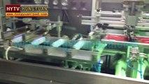 Automatic plastic bottle screen printing machine