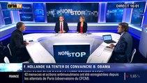 """Attentats : """"Les français sont les premiers alliés européens des états-unis car François Hollande est devenu un leadership"""", François Durpaire - 24/11"""