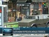 Bélgica: mantienen alerta ante amenazas terroristas