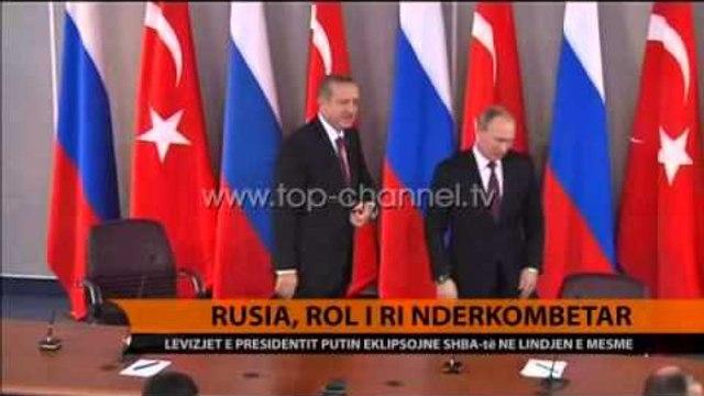 Revanshi i Rusisë në Lindjen e Mesme - Top Channel Albania - News - Lajme