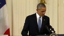 """Obama : """"Nous sommes tous Français"""""""