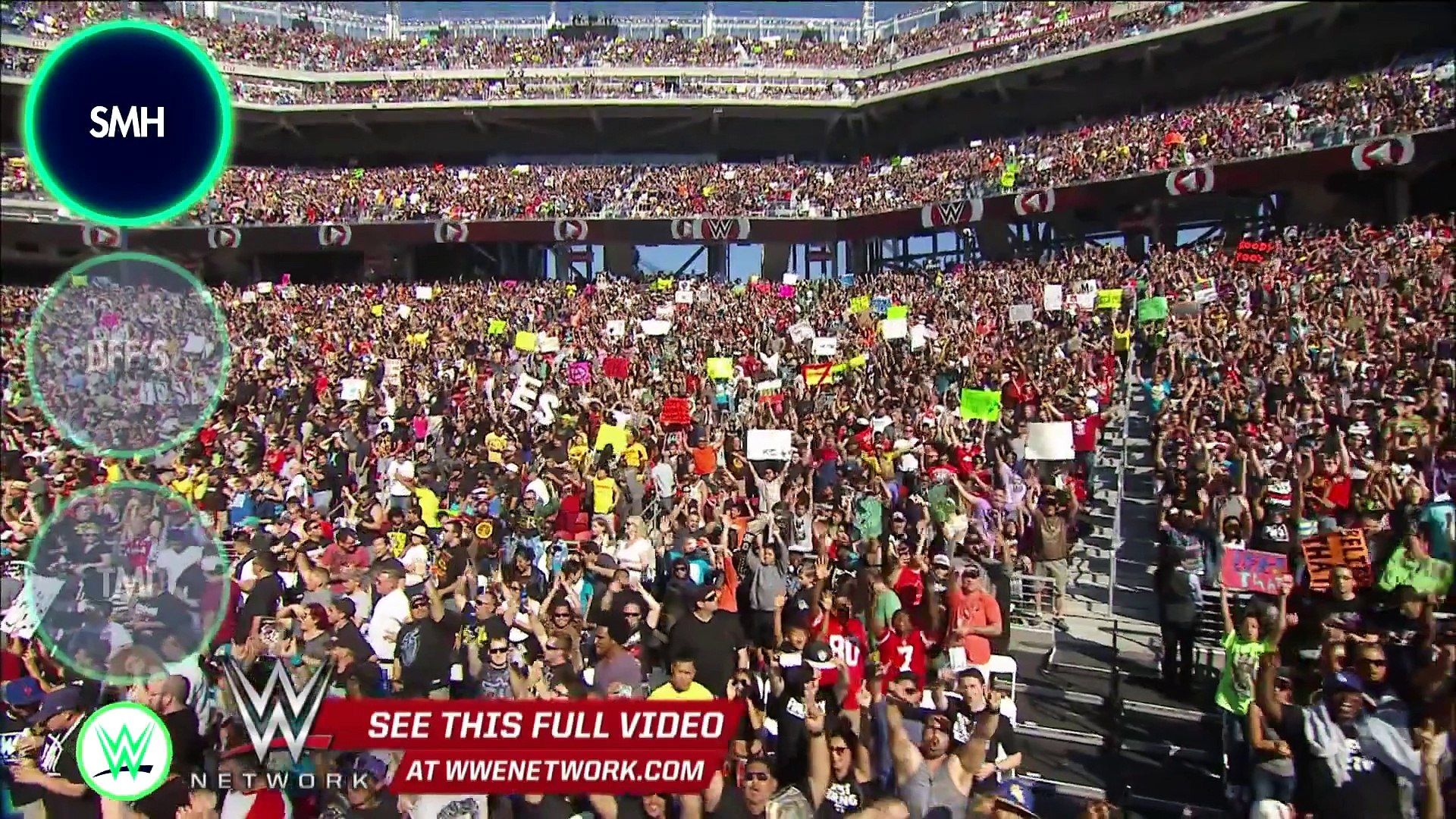 WWE Network  Seth Rollins makes The WWE List for stealing a win at WrestleMania 31