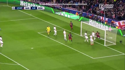 Lionel Messi 2:0 Amazing Goal | Barcelona - AS Roma 24.11.2015 HD