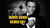 JAMES BOND hommage a tous les 007 !! 53 ANNEES - Montage sur un REMIX du thème 007