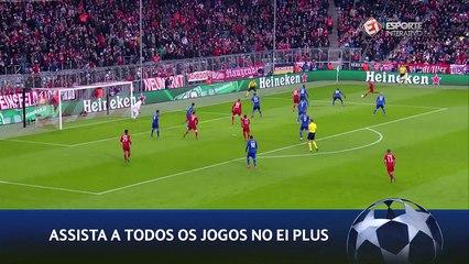 Gol - Muller - Bayern x Olympiacos - 5ª rodada Liga dos Campeões - 24/11/15