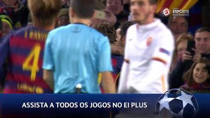 Gol - Trio MSN- Barcelona x Roma - 5ª rodada Liga dos Campeões- 24/11/15