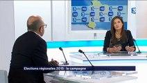 Françoise Coutant invitée de Face à Face sur France 3 pour présenter le programme de la liste Osons Mieux  pour les Régionales en Aquitaine - Limousin - Poitou-Charentes
