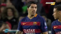 Amazing Goal luis Suarez 3-0 FC Barcelona vs Roma 24/11/2015 by goldfinger