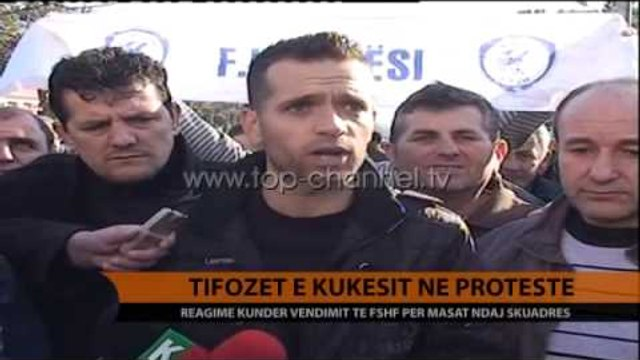Tifozët e Kukësit: Të hiqet dënimi - Top Channel Albania - News - Lajme