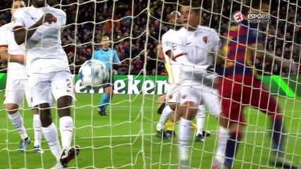 melhores momentos de Messi nesta terça de Liga!