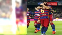 Barcelona vs Roma 6-1 Entrevista a Luis Suarez Champions League 24 11 2015