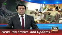 ARY News Headlines 25 November 2015, Army Chief Raheel Sharif Vi