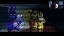 STEVE NIGHTS AT FREDDYS - (Vídeo Reacción) Five Nights at Freddys Animation FNAF