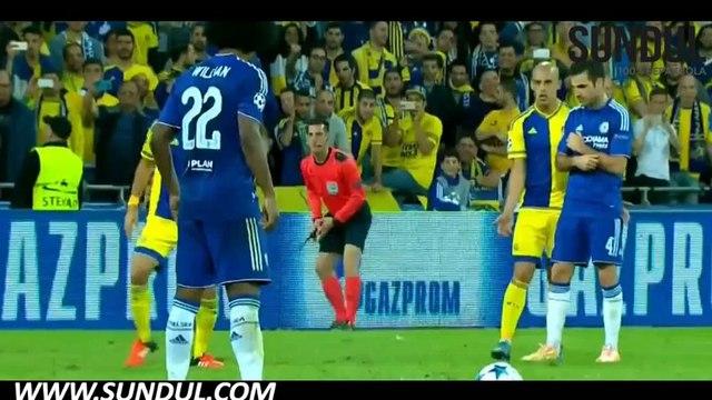 Champions League   Maccabi Tel Aviv 0-4 Chelsea   Video bola, berita bola, cuplikan gol