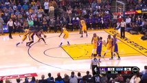 Golden State Warriors- Los Angeles Lakers: Kobe Bryant touche le fond