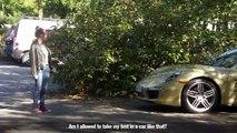 Caméra cachée : ils passent leur permis avec une Porsche 911