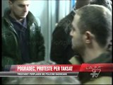 Protesta e tregtarëve në Pogradec - News, Lajme - Vizion Plus