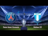 Malmo FF vs PSG Swedbank Stadion | Champions League Group stage