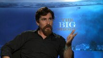 Exclusive Interview: Christian Bale says there are no heroes in 'The Big Short'
