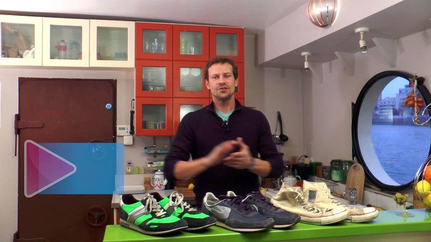 Nettoyer la semelle blanche de ses chaussures de sport - Gaël gagne du temps