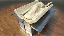 Il met au point le lit qui protège des tremblements de terre