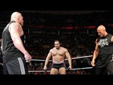 Brock Lesnar vs The Rock vs Rusev - Triple Threat ND Match - Extreme Rules 2016
