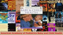 PDF Download  American Academy of Pediatrics Baby and Child Health Download Full Ebook