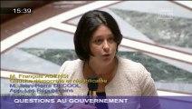 Relogement des habitants de la rue Corbillon à Saint-Denis : Sylvia Pinel répond à une question au Gouvernement
