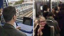 Le conducteur de la Ligne 6 du métro chante du Rihanna pour patienter