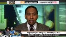 ESPN First Take - Philadelphia Eagles vs Detroit Lions   Who Wins