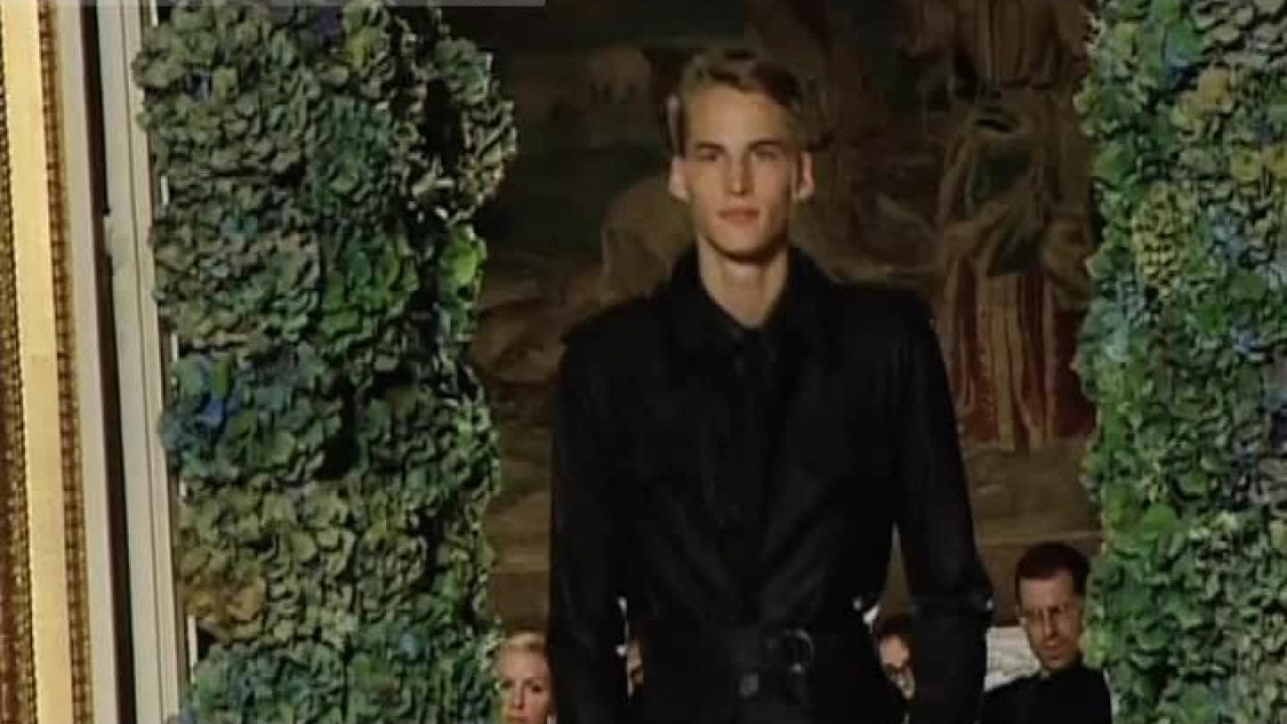 LANVIN Fashion Show Spring Summer 2007 Menswear by Fashion Channel