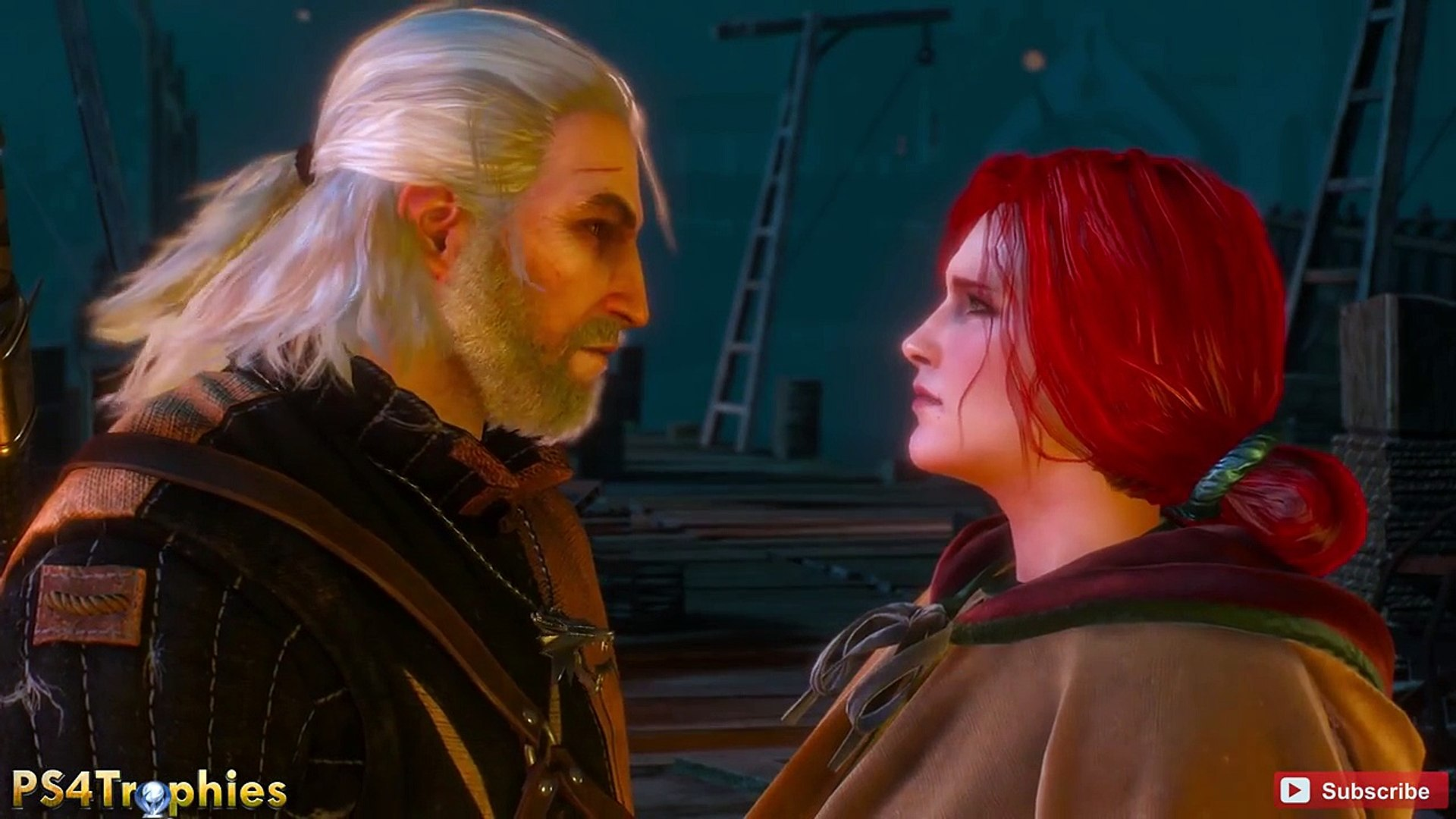 Triss Merigold Sex Scene - The Witcher 3 Wild Hunt