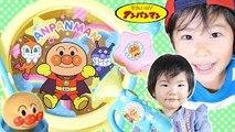 アンパンマンおもちゃ 新発売♪ リズムでアンパンマン 全部開封♪