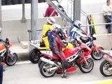 Motos avant 2ème départ