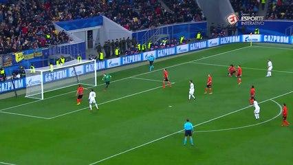 Gol - Carvajal - Shak x Real Madrid - 5ª rodada Liga dos Campeões - 25/11/5