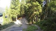 BMX Riders Crash In Mid-Air