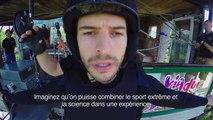 Le premier saut à l'élastique...sans élastique ! - vidéo Dailymotion