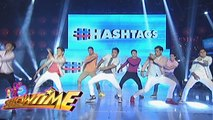 It's Showtime Hashtags: Hashtag boys' throwback dance
