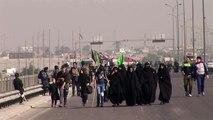 Iraqi Shiites go on pilgrimage despite security fears