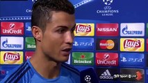 Real Madrid vs Shakhtar Donetsk 4 - 0 Cristiano Ronaldo post-match interview