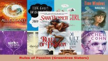 Read  Rules of Passion Greentree Sisters Ebook Free