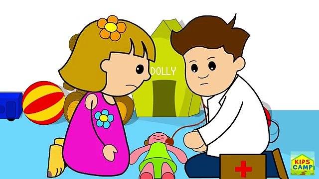 Sick Sick Sick -- Nursery Rhymes -- For Kids