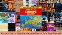 Read  Europe Marco Polo Maxi Atlas Marco Polo Road Atlas PDF Free PDF Online
