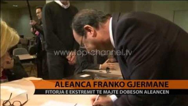 Dobësohet aleanca franko-gjermane - Top Channel Albania - News - Lajme